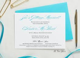 amber bridal shower invitation all that glitters invitations