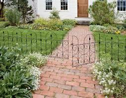 decorative garden fence gardening ideas