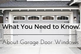 Overhead Door Lexington Ky by What You Need To Know About Garage Door Windows Absolutedoor Net