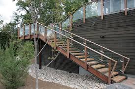 external metal staircase majestik all stairs battig design