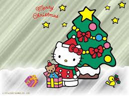 kitty christmas wallpaper