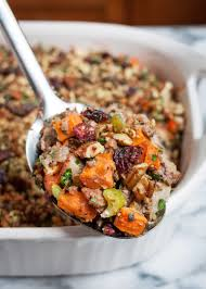 new orleans thanksgiving dinner recipes sweet potato u0026 pork thanksgiving stuffing paleo gluten free
