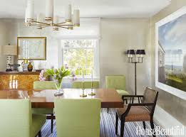 Inside A Home That S Not Afraid Of Bold Color England Beaches Design For Dining Room