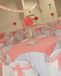 Quinceanera Table Decorations Centerpieces Coral Reef Color Wedding Decorations