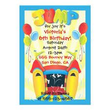 personalized jumping invitations custominvitations4u