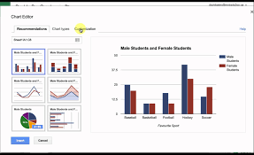 Create A Doc Spreadsheet Create A Bar Graph With Sheets