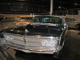 old chrysler grill 1965 chrysler imperial le baron museum exhibit 360carmuseum com