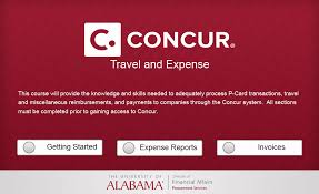 Alabama travel services images Concur ua edu just another wordpress site the university of png