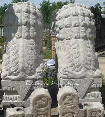 images of foo dogs 72 inch granite foo dog pair beijing style