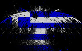 Greek Flag Background Eagles Flags Greece Greek Flag Eagle 663668