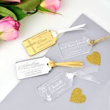 baptism engraving engraved acrylic christening gift tags engraved tags for