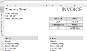Invoice Template For Designers by 13 Useful Excel Templates For Freelance Designers