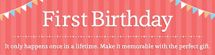 personalized 1st birthday gifts for babies at personal creations