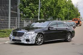 2018 mercedes amg s63 sedan starts testing with new engine