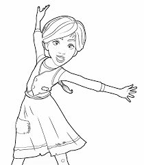 leap movie coloring pages