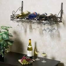 wall mounted stemware rack foter