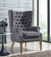 grey linen chair abe grey linen chair from tov furniture tov a2040
