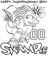 college mascot coloring pages