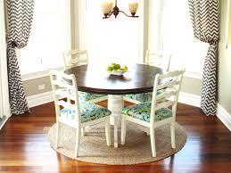 furniture breakfast nook table decorating ideas kropyok home round varnished wood kitchen breakfast
