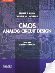 buy cmos analog circuit design book online at low prices in india