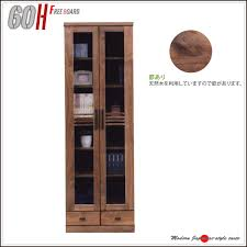 Wide Bookcase With Doors Ms 1 Rakuten Global Market Archive 60 Book Shelf Glass Door