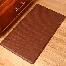 Padded Kitchen Rugs Gel Pro Mat Basketweave In Kitchen Mats