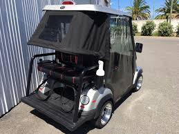 tomberlin emerge electric golf cart with fold up rear seat 48vo