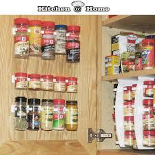 Kitchen Cabinet Door Organizer Kitchen Cabinet Door Spice Rack Home Design