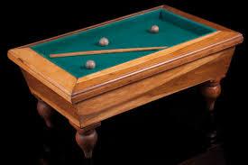 l shaped pool table original and rare pool table billard shaped cigar box art deco