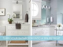 Bathroom Spa Ideas - how to easy ideas to turn your bathroom into a spa like retreat