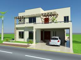 10 marla home front design images 3d home front bahria