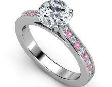 Pink Wedding Rings by 132 Best Wedding Ring Images On Pinterest Round Diamonds