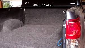 tundra crewmax bedrug before and after youtube