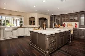 kitchens with black distressed cabinets black distressed cabinets