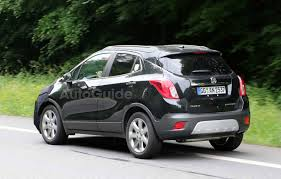 buick encore 2016 buick encore spy photos snapped chevy trax forum