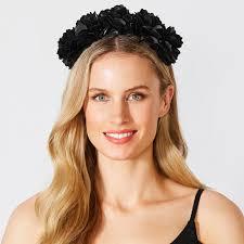 headband floral flower headband black target australia