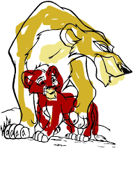 scar son lion king coloring download u0026 print