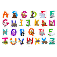 decorative letters for kids promotion shop for promotional a z alphabet animals home decoration letters english vinyl mural wall stickers decals nursery kids room decor for wall 0185