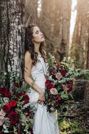 Roses Pine Trees And A White Dress U2014 Nicole Marie Photography