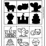 cut and paste worksheets shadow matching alphabet cut paste