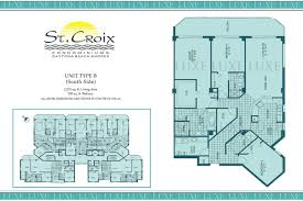 st croix condos floor plan 3145 s atlantic ave 32118 daytona