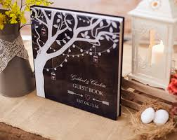 Rustic Wedding Guest Book Guest Book Ideas Curated By Wedding Forward On Etsy