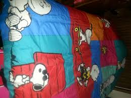 Snoopy Bed Set Sweet Dreams With Snoopy And Brown Comforter Set