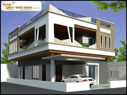 4 bedroom modern duplex 2 floor house design area 216 sq mts