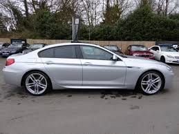 bmw 6 series for sale uk used 2013 bmw 6 series 640d m sport gran coupe 9610 worth of