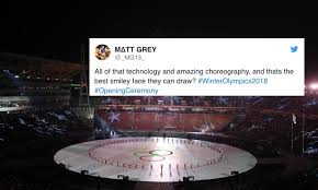 Smiley Face Memes - smiley face memes tweets from the 2018 olympics opening ceremony