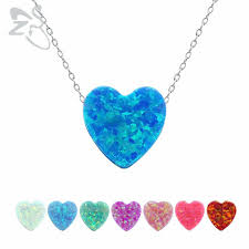 opal pendant necklace images Opal pendant necklace for women girls 925 sterling silver chain jpg