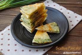 cuisine pancake scallion pancakes congyoubing china sichuan food