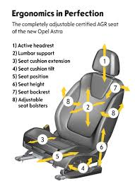 Ventilated Car Seats Seat Engineering At Opel U2013 High Tech Perfection With A Long Tradition