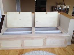 how to build kitchen island with nook bench google search